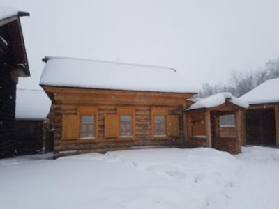 Завершено строительство экспозиции «Дом для ямщиков».