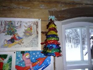 """конкурс поделок  """"Новый год в далеком прошлом"""""""