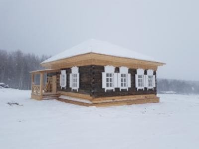 Завершена реставрация станционного дома в музее «Тальцы»