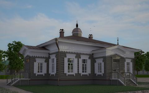 Архитектурно-этнографическим музеем «Тальцы» разработан проект воссоздания синагоги