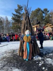 Более 17 тысяч гостей принял архитектурно -  этнографический музей «Тальцы» на  Масленицу
