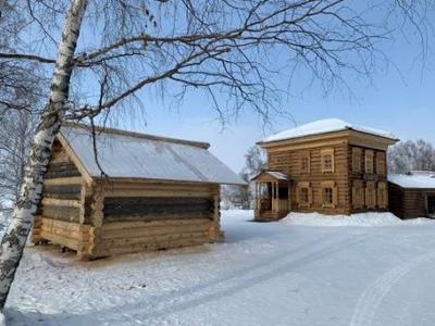 В Архитектурно-этнографическом музее «Тальцы»  продолжается строительство новых экспозиций.